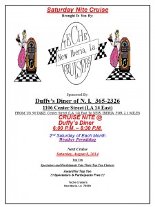 Duffy's Cruise In Flier