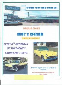 Mel's Dinner Flyer